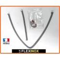 Kit LAGUNA II de 2 flexibles inox à colliers DN10 pour prise de pression sur FAP