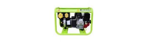 Kit d'adaptation et flexible d'échappement pour PRAMAC E4000