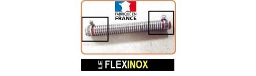 Manchon isolant pour embout flexible inox à colliers