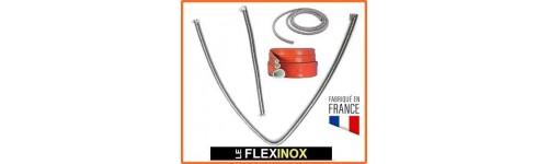 Flexible inox pour groupe électrogène et WEBASTO par diamètre de tube (8 à 65)